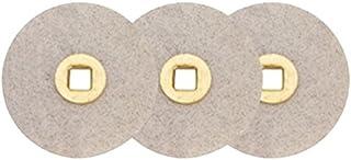 "Box of 100 Moore Magnum Sanding Abrasive Discs Fine Grit 7/8"" Aluminum-Oxide Jewelry Making Non-Precious Metal Polishing"