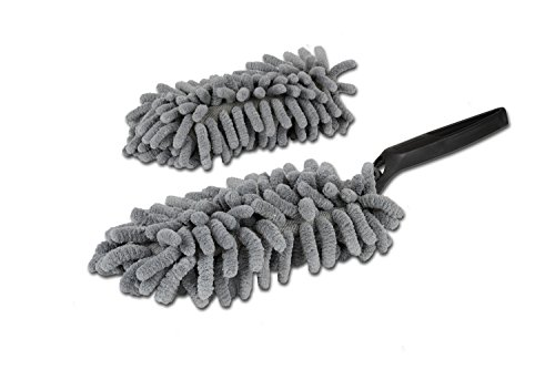 Microfiber Mini Duster | Extra Cover Included | Machine Washable | Perfect Replacement for Disposable Dusters