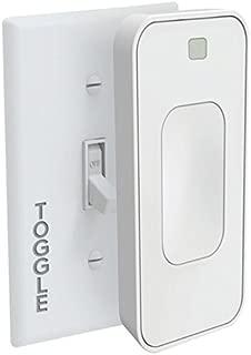Switchmate TSM003W Bright Toggle Smart Wall Mounted Light Switch - White