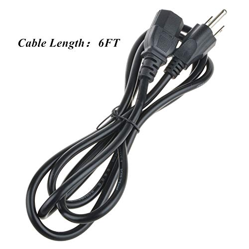SLLEA AC in Power Cord Outlet Socket Plug Cable Lead for Gateway ZX6961-UR20P PW.GBUP2.003 All-in-One Touch Screen Laptop PC (4FT Cable)