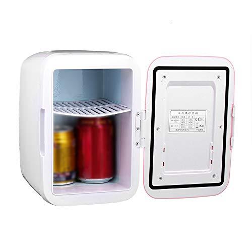 LIUXU Refrigerador de automóviles, refrigerador portátil DC 12V, 4L Mini refrigerador refrigerador 12V Calentador de refrigerador, Piezas de automóvil General