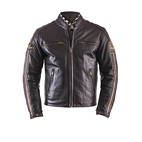 Preisvergleich Produktbild Helstons Motorradjacken Ace Leder Fender Braun,  Braun,  L