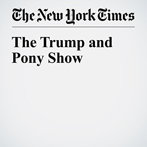 The Trump and Pony Show cover art