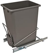 Hafele Wire Trash Can, 36 qts Capacity, 88 lbs Load Bearing Capacity, Easy Installation
