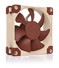 Premium quiet fan, 80x80x25 mm, 12V, 4-pin PWM, max. 2200 RPM, max. 17.7 dB(A), >150,000 h MTTF Award-winning 80x25mm A-series fan with Flow Acceleration Channels and Advanced Acoustic Optimisation frame for superior quiet cooling performance 8cm for...