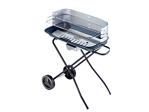OMPAGRILL 80902 Barbecue à charbon, aluminium