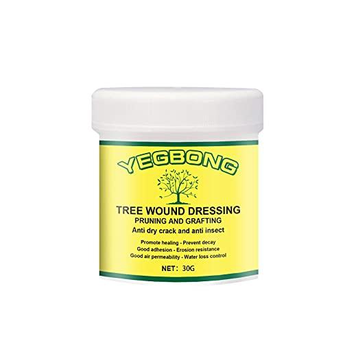 JKUN Sellador de heridas de árbol, 30/100/300 g sellador de poda de árbol Bonsai corte pasta de poda, cera de herida de árbol para injertos de plantas de jardín, recuperación rápida de árboles