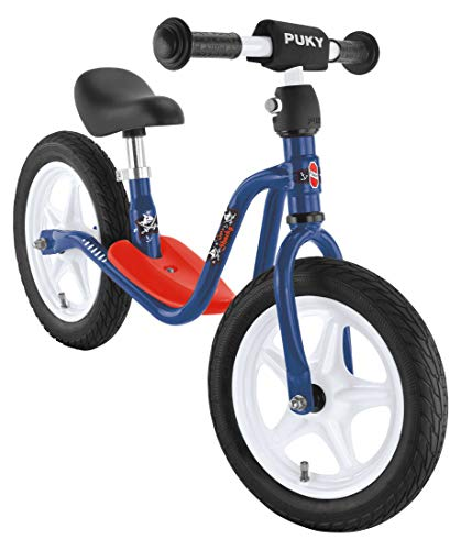 Puky LR 1L Bicicleta de Equilibrio, Capitán Sharky Blue, Suitable for Children from 2.5 Years (MAX 25Kg)