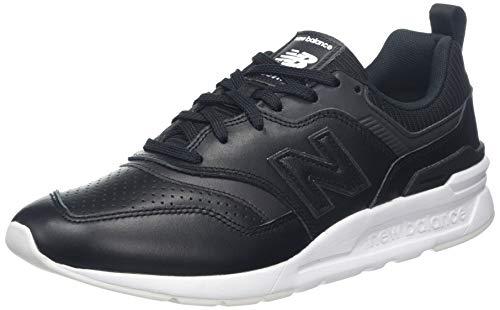 New Balance 997h, Zapatillas Hombre, Negro (Black/White Black/White), 42 EU