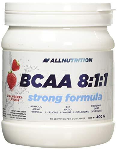 Allnutrition BCAA 8:1:1 Strong Formula, Strawberry, 1 kg