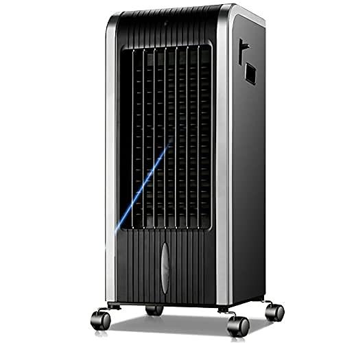 Refrigerador de aire, aire acondicionado pequeño 4 en 1, ventilador y humidificador de aire, purificador y calefacción, aire acondicionado para la oficina en casa.