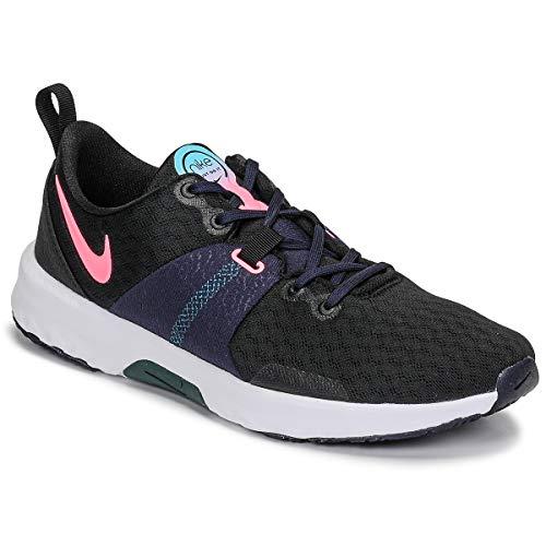 Nike WMNS City Trainer 3, Chaussure de Piste d'athltisme Femme, Black Sunset Pulse Blackened Blue DK Atomic Teal Lagoon Pulse Cyber, 40 EU