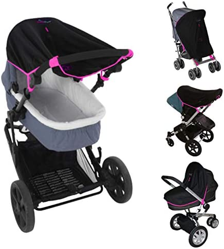 Stroller Sun Cover 0 6m Baby Sun Shade and Blackout Blind for Strollers Stops 99 of The Sun product image