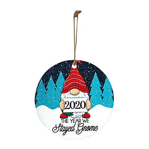2020 The Year We Stayed Home - Gnome Christmas Ornament, Home Decor Easter and Eid Onsale