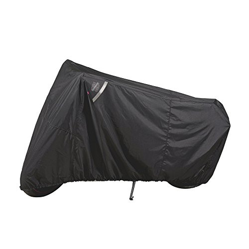 Dowco Guardian 50124-00 WeatherAll Plus Indoor/Outdoor Waterproof Motorcycle Cover, Black, Sportbike