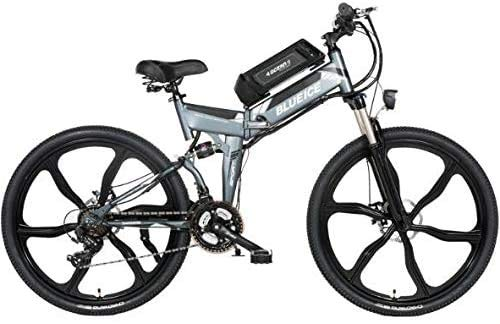 YAOJIA Bycicles adult bike 26 Inch Electric Mountain Bike Off-Road 24 Speed Folding With Removable 48V Lithium-Ion Battery Hybrid Bikes For Men trek road bike
