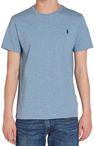 Polo Ralph Lauren Mens Classic Fit Solid Crewneck T Shirt X Large Ocean Heather product image