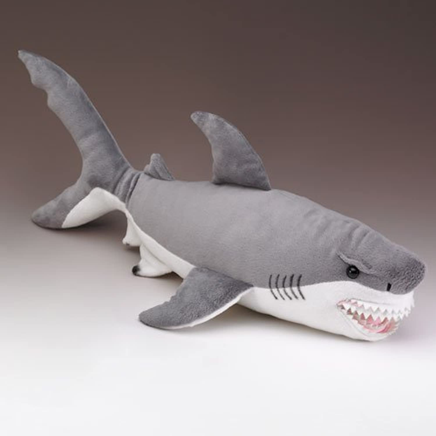Wildlife Artists Great White Shark Stuffed Animal, XLarge by Wildlife Artists