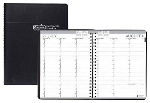 House of Doolittle 2020-2021 Professional Weekly Planner, Academic, Black, 8.5 x 11 Inches, August - July (HOD257202-21) Doolittle Professional Weekly Planner