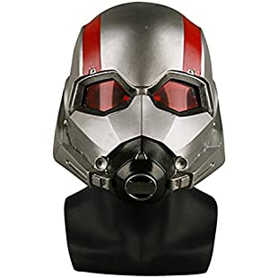 nihiug Ant Man 2 Wasps Appearance Mask Headgear Ant Mask Halloween Props,Distressed-OneSize