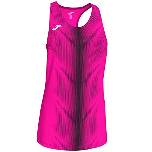 Joma Olimpia T-Shirt pour Fille Taille Unique Rose Fluo-Noir
