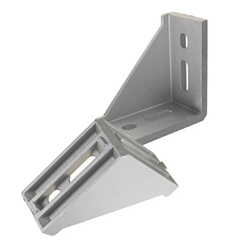MJJEsports MJJEsportsTM AJ30 30×60mm Aluminium Hoek Gezamenlijke Connector Rechthoek Beugel Meubels Fittings