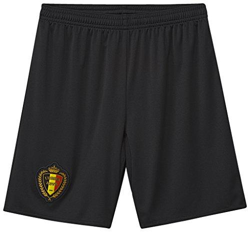 adidas Jungen Belgium Away Football Shorts, black/Vapblu, 140