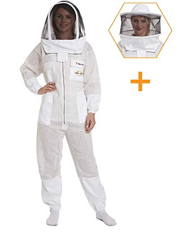 NATURAL APIARY - Zephyros Protect - Ventilated Beekeeping Suit – Total Protection for...