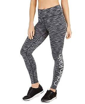 Calvin Klein Performance Womens High Waist Activewear Yoga Legging Gray XS