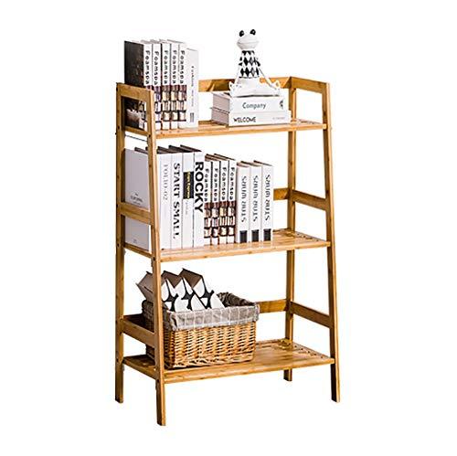 XUEZHEN Kinderrek, modern bamboe, voor kinderen, trapezoïdal, rekboek, voor de planten in vaas, ornamenten, boeken, 2 specificaties: verkrijgbaar