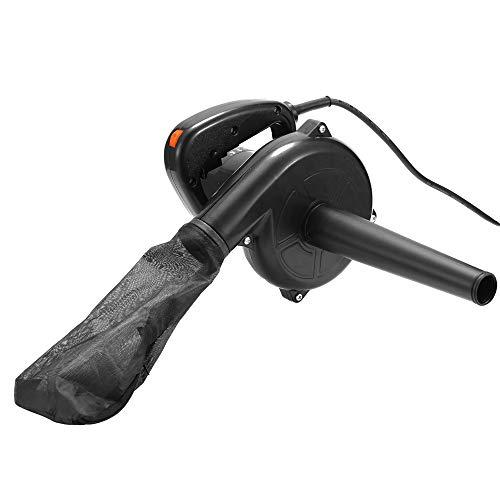 Cacoffay 6-Gang Elektrisches Luftgebläse Vakuum-Blowing-Staub-Kollektor Hand Blatt Gebläse Auto-Computer-Reinigungsmittel 1.16M Kabel Saugen Staub 220V 750W