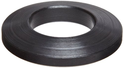 12L14 Carbon Steel Flat Washer, Black Oxide Finish, 5/8