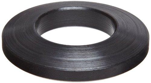 12L14 Carbon Steel Flat Washer, Black Oxide Finish, #4 Hole Size, 1.125