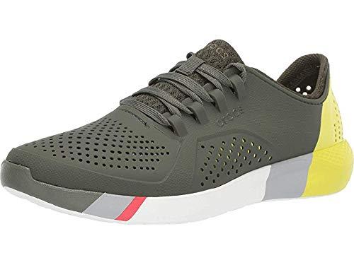 Crocs Men's Ltrdpacerm Sneaker, army