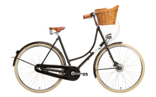 Creme Hollandrad Holymoly Lady Doppio 3 Speed, Darkbrown, 54, BI-CRE-4211