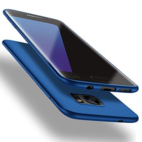 X-level Samsung Galaxy S7 Edge Hülle, [Guardian Serie] Soft Flex TPU Case Ultradünn Handyhülle Silikon Bumper Cover Schutz Tasche Schale Schutzhülle für Samsung Galaxy S7 Edge - Blau