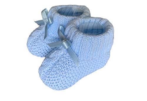 Dor Calcetines Bebé Niñas 0-6 Meses - Trenzado - en Caja Regalo Calcetines con Lazo para Bebé Recién Nacidos Niñas Pequeñas
