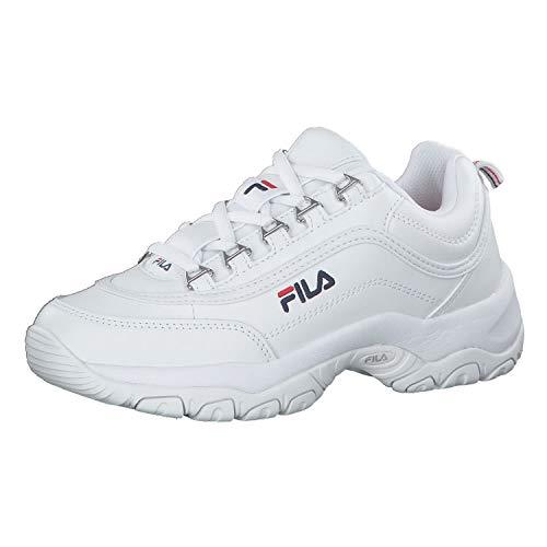FILA Strada wmn zapatilla Mujer, blanco (White), 38 EU