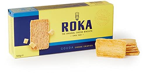 Roka Gouda Cheese Crispies 100 g