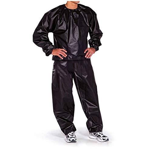 Peanutaoc Waterdichte Winddichte PVC Sauna Pak Anti-Rip Training Fitness Gewichtsverlies Sport Sauna Kleding Effen Kleur Gym Pak