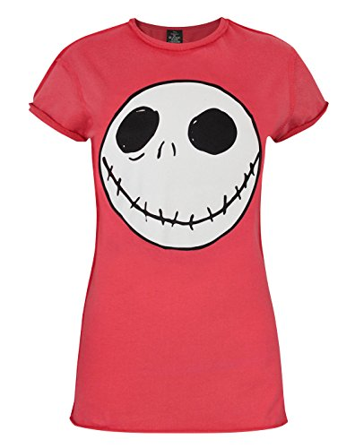 Mujeres - Disney - Nightmare Before Christmas - Camiseta (XL)