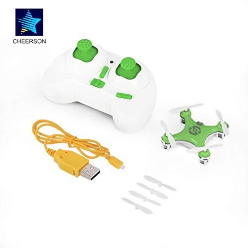 Modalità RC senza fili RC Quadcopter 4CH 2.4GHz Drone Green per Cheerson CX-10