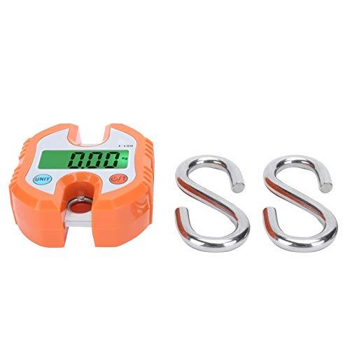 raguso Mini báscula de grúa de 150 KG Báscula de grúa portátil de Servicio Pesado Básculas Colgantes de Gancho Digital para Equipaje Compras Equipo de pesaje Digital de Viaje con Gancho