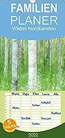 Einblick-Natur: Wildes Norkarelien - Familienplaner hoch (Wandkalender 2022 , 21 cm x 45 cm, hoch): Landschaften und Tiere in Nordkarelien, fotografiert von Alexandra Wuensch GDT (Monatskalender, 14 Seiten )