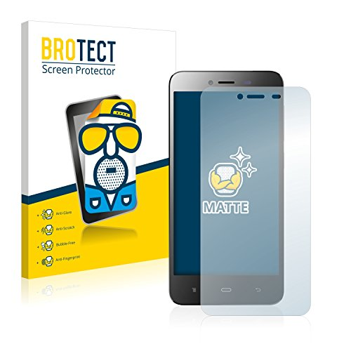 BROTECT 2X Entspiegelungs-Schutzfolie kompatibel mit Phicomm Energy L (E653) Bildschirmschutz-Folie Matt, Anti-Reflex, Anti-Fingerprint