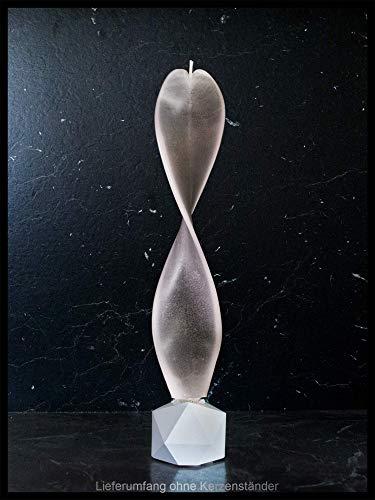 Moderne Deko. Schwarz-weiß Engelslicht handgemacht. Yin Yang Kerze auch zur Meditation oder Dekoration. Engelskerze, das besondere Geschenk für Ihre Lieben.