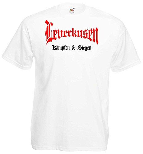 world-of-shirt Herren T-Shirt Leverkusen kämpfen und Siegen