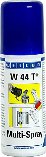 WEICON W 44 T Multi-Spray 50 ml | Multifunktionsöl | 1 Spray, 5 Funktionen | Kriechöl, Rostlöser, Korrosionsschutz, Schmiermittel, Pflegespray