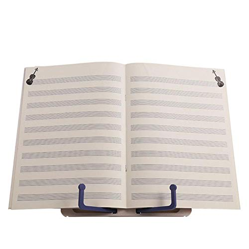 Muziekstandaard leesstandaard draagbare mini muziekstandaard lezen planken, desktop boekenstandaard houder, opvouwbaar boekensteun stand voor bladmuziek