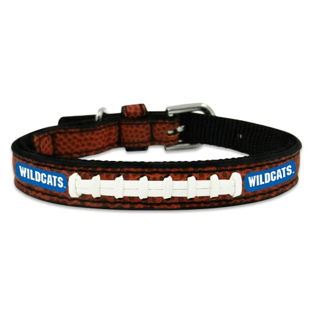 後多様なコーチKentucky Wildcats Classic Leather Toy Football Collar